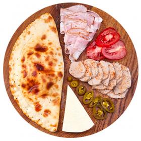 """Пицца """"Толстушка со свининой"""""""