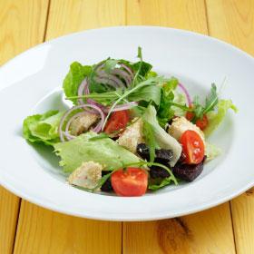 ПОСТНОЕ МЕНЮ: Салат с запеченной свеклой и сыром Тофу