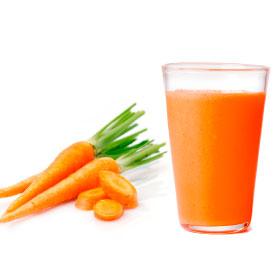 Свежевыжатый морковный сок