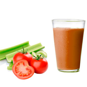 Свежевыжатый овощной сок