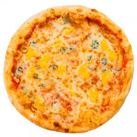 """Пицца """"Четыре сыра"""" тонкая"""