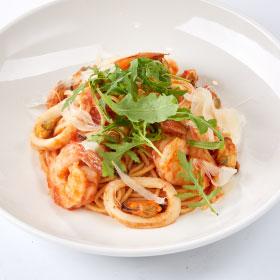 Паста с Дарами моря/Спагетти