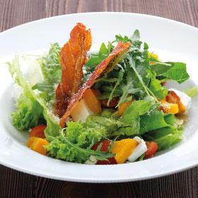 Салат с запеченной сладкой тыквой